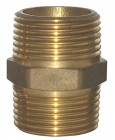 Onda Double Nipple Brass
