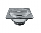 wasser HSA-6442 Round Floor Drain with Square Flange