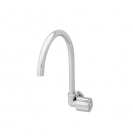 Wasser TB-040 Wall Mounted Round Handle Sink Tap with Swing Spout