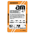 AM 47 - Low Efflorescence Tile Adhesive