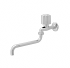 Wasser TB-050 Round Handle Long Swing Spout Sink