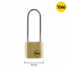 Yale Y110/60/163/1 Solid Brass Long Padlock